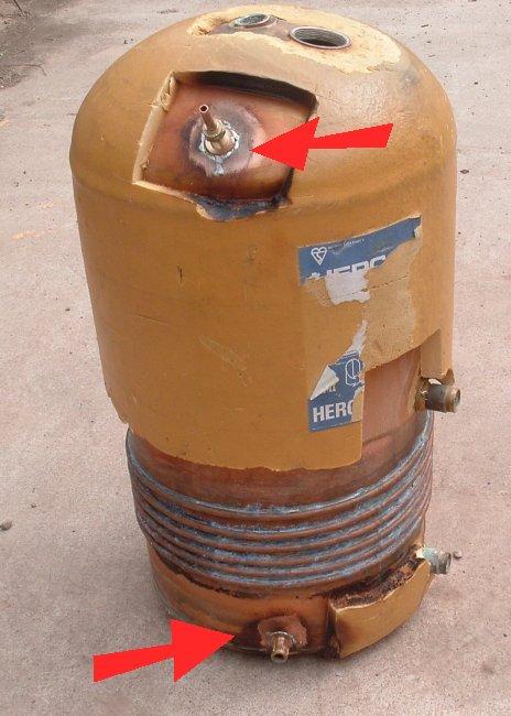 Hot Water Tank Modifications